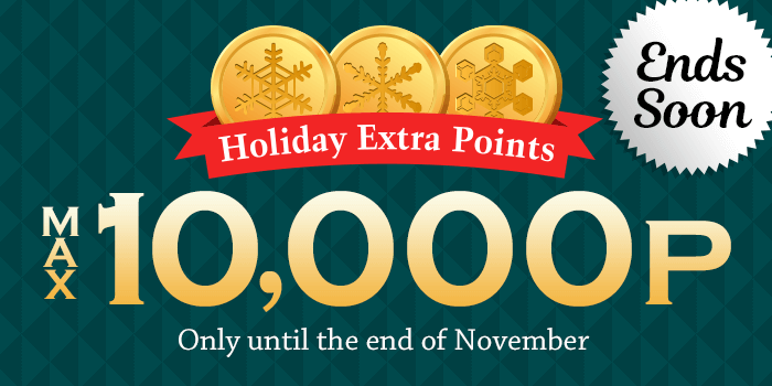 holiday point banner
