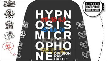 Hypnosis Mic -Division Rap Battle- Parka & T-shirt [Proxy Feature]