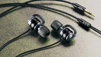 World's First CNF-contained Headphones: Ocharaku Flat4 KAEDE III/AKAKAEDE III