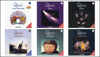 Queen Japan Exclusive 180 Gram Vinyl Reissues From DEAGOSTINI Japan