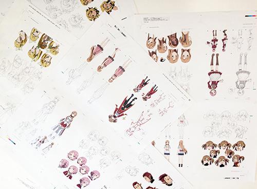Sword Art Online Design Works sample