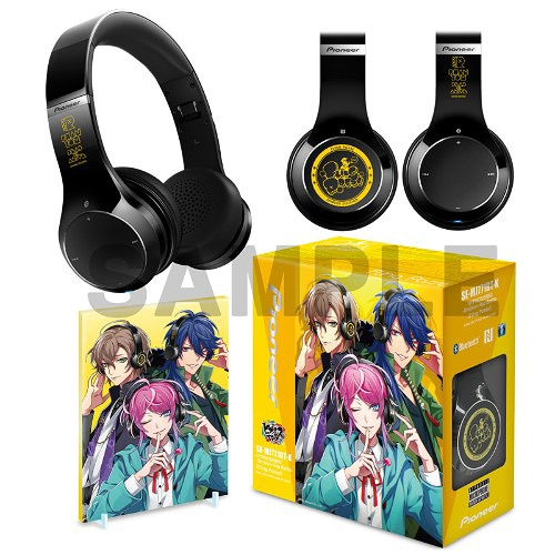 Hypnosismic -Division Rap Battle- Shibuya Division Wireless Headphones