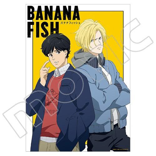 Cdjapan Banana Fish Mini Clear Poster Ash Eiji Collectible