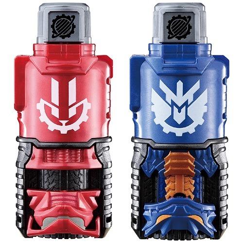 Kamen Rider Build Rabbit & Dragon Evol Bottle Set