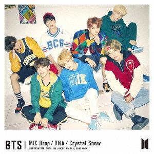 CDJapan MIC Drop DNA Crystal Snow Limited Edition Type C BTS Bangtan Boys CD Maxi