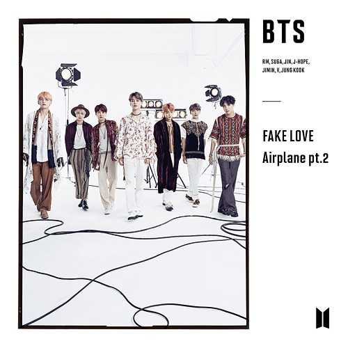 FAKE LOVE / Airplane pt 2 [Limited Edition / Type C]