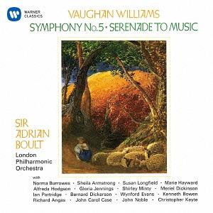 Cdjapan Vaughan Williams Symphony No 5 Serenade To
