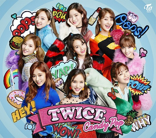Cdjapan candy pop w dvd limited edition type a twice cd maxi stopboris Gallery