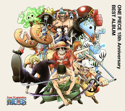 63bb49ab411 CDJapan : ONE PIECE 15th Anniversary Best Album [Shipping Within Japan  Only] Animation CD Album