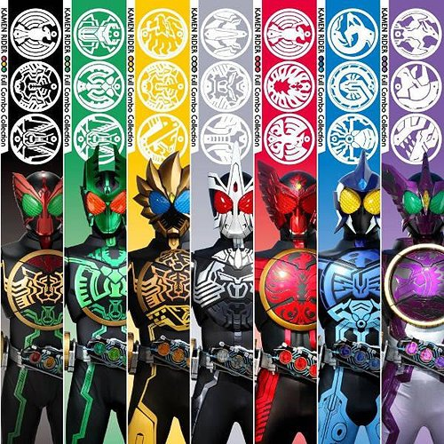 Kamen Rider OOO Full Combo Collection