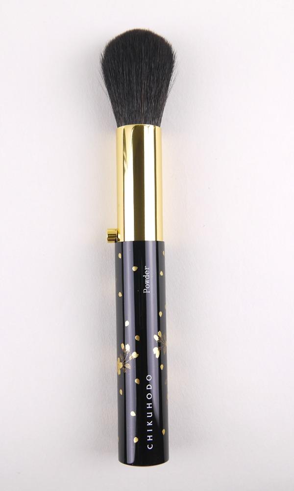 CDJapan : MK-11 Retractable Powder Brush / Chikuhodo Makie Series Makeup Brush Collectible