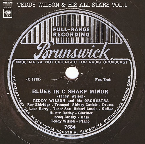 Cdjapan Teddy Wilson Amp His All Stars Vol 1 Limited