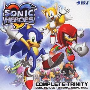 Cdjapan Sonic Heros Complete Collection Original Soundtrack Game Music Cd Album