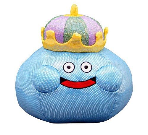Dragon Quest Smile Slime Plush Doll King Slime L 22cm