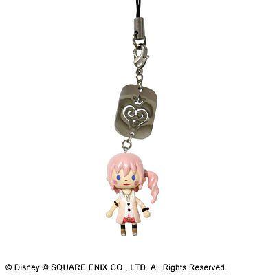 Kingdom Hearts Avatar Mascot Strap Keychain Sora Square Enix Disney KH Game JP