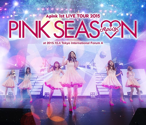 DL MP3] [Concert] Apink 1st Live Tour 2015 -Pink Season- – HULKPOP