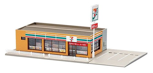 Model/_kits TOMYTEC TOMIX N Gauge 4262 Convenience Store Seven Eleven New MA