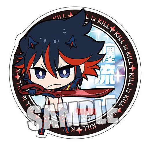 Kill La Kill Magnet Sticker Ryuko Matoi Kamui Senketsu Ver