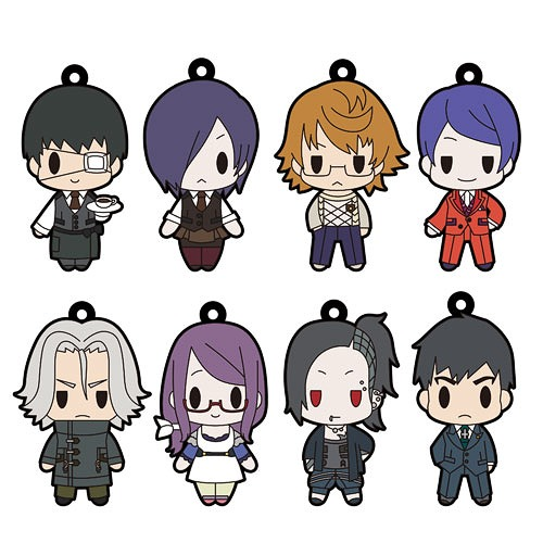 cdjapan d4 tokyo ghoul rubber strap collection vol1 box