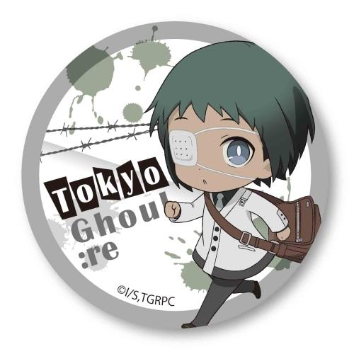 Can Badge Part 2 Tokyo Ghoul:re Toru Mutsuki (SD)