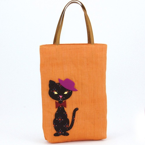 Fancy Swagger Bag: A Cat (Small) Orange