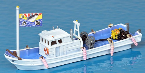 [N gauge] Jyoukei Collection: Scenery Accessories 009-2 Fishing Boat A2