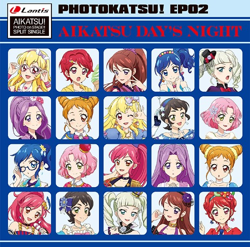 """Aikatsu! Photo On Stage!! (App Game)"" Split Single Photo Katsu! EP 02"