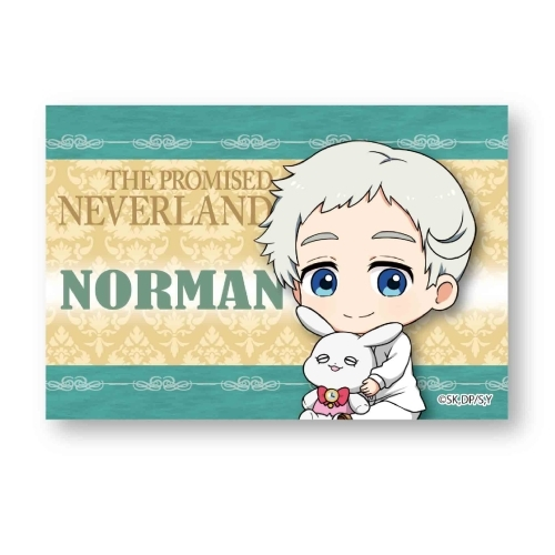 Gyugyutto Big Square Can Badge The Promised Neverland Norman