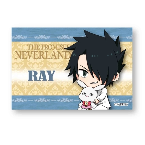 Gyugyutto Big Square Can Badge The Promised Neverland Ray