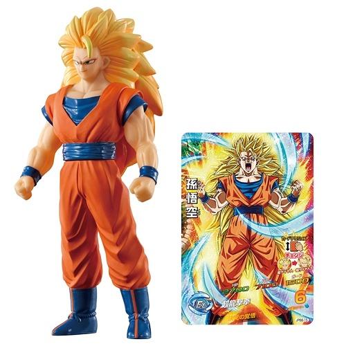 CDJapan Dragon Ball Kai Super Warrior Soft Vinyl Series Saiyan 3 Son Goku Collectible