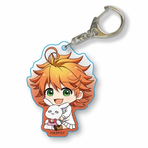CDJapan   Gyugyutto Acryl Key Chain The Promised Neverland Emma Collectible b92a21f87f61