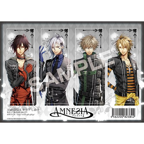 CDJapan AMNESIA Bookmarker Character Goods Collectible