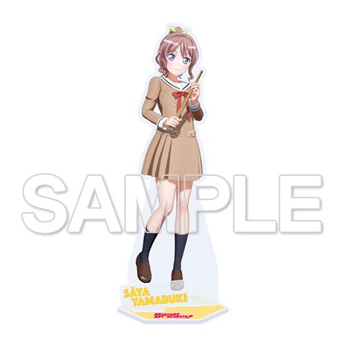 Bandori Bang Dream 2nd Poppin Party Ushigome Rimi acrylic stand figure JAPAN