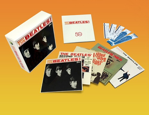 Cdjapan Meet The Beatles Cardboard Sleeve Mini Lp