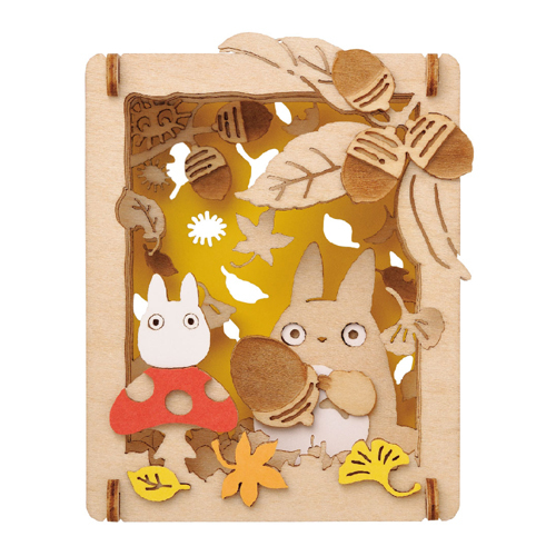 cdjapan paper theater wood style my neighbor totoro pt w02