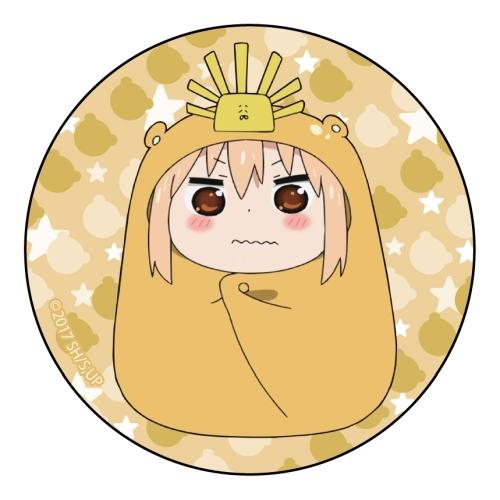 Himoto! Umaru-chan R Can Badge Umaru Doma Ieyasu Tokugawa Ver