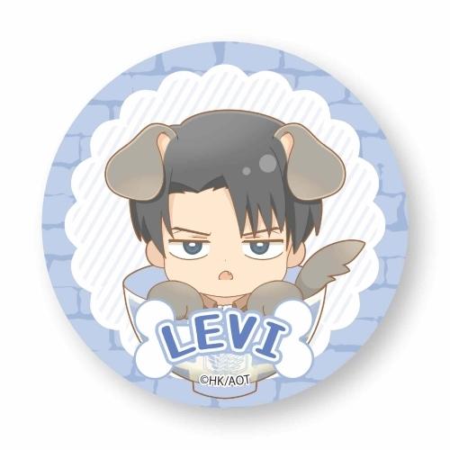 Wankomeshi Can Badge Attack on Titan Season 3 Levi