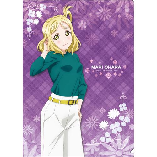 Cdjapan Love Live Sunshine Clear Folder Mari Ohara Collectible