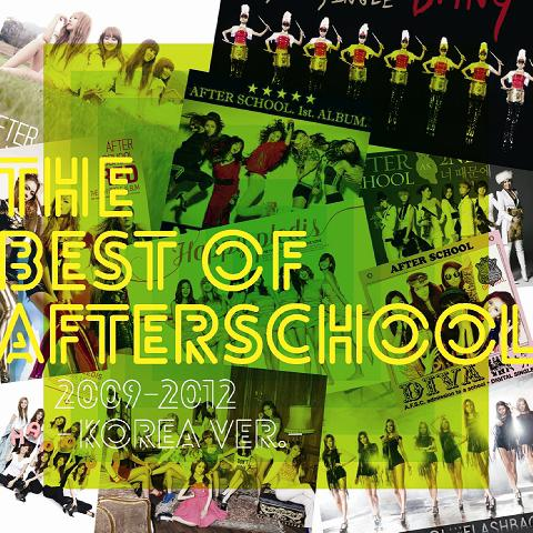 AFTER SCHOOL – The Best Of AFTERSCHOOL 2009-2012 -Korea Ver.-
