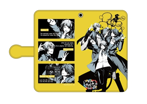 Hypnosismic -Division Rap Battle- Fling Posse Datebook Type Smartphone Case