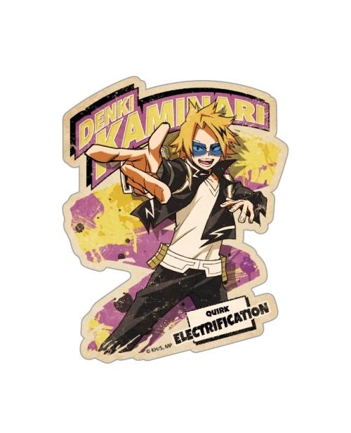 My Hero Academia Travel Sticker Action 7 Denki Kaminari