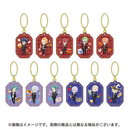 Twisted Wonderland keychain collection Vol 1 /& Vol 2