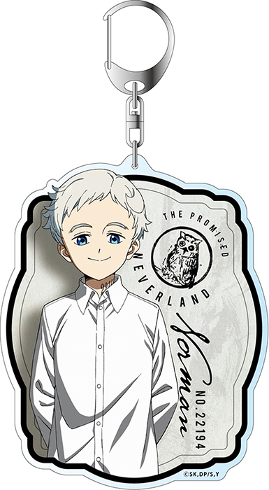 The Promised Neverland Big Key Chain Norman Ver  2