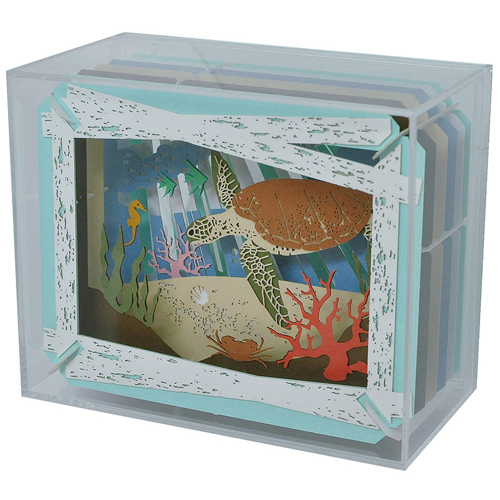 cdjapan paper theater display case collectible