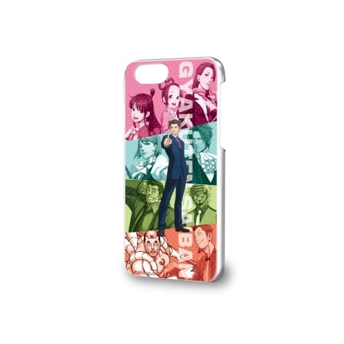 Hard Case iPhone 6 / 6S / 7 / 8 Ace Attorney (Gyakuten Saiban) 01 Group Design
