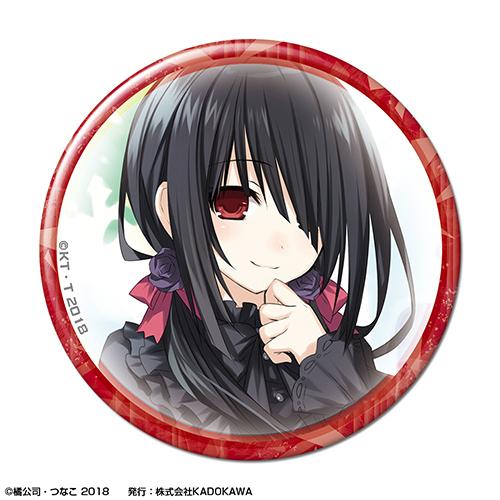 CDJapan Original Ver Date A Live Can Badge Design 04 Kurumi Tokisaki Collectible