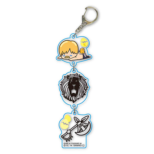 Cdjapan 3renkey Chain The Seven Deadly Sins X Gudetama Escanor X