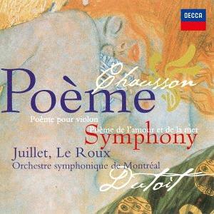 Chausson Symphonie Poeme Poeme De Lamour Et De La Mer Shm Cd
