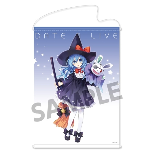 CDJapan Date A Live Original Ver B2 Tapestry Yoshino Halloween Collectible