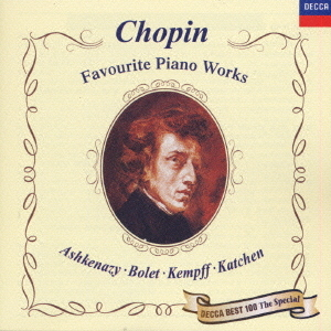 Cdjapan Chopin Favorite Piano Works Limited Pressing